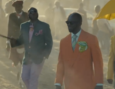 This Guinness ad shows us a different side of Africa.  Beyond the big bellies and tragedy there is beauty, creativity and dignity.  Be sure to check out the short about the Sapeurs here.