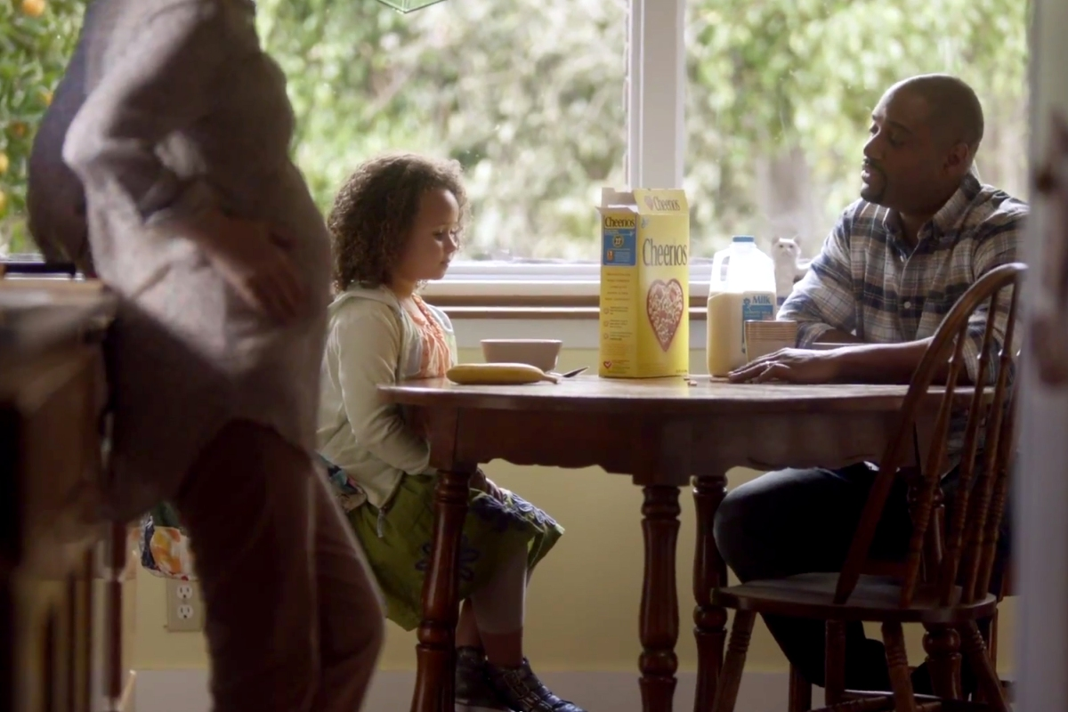Cheerios Graces Superbowl With Interracial Family'sReturn