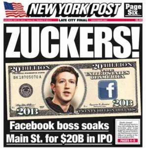 Facebook IPO con