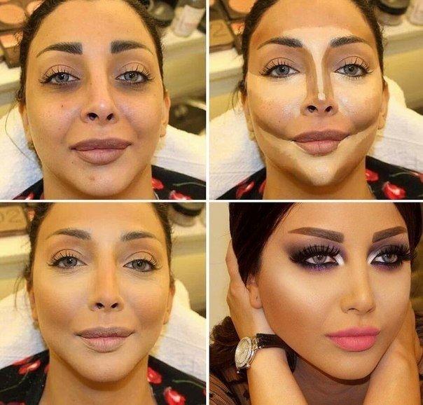 Contouring Nose Makeup Before And After Saubhaya Makeup