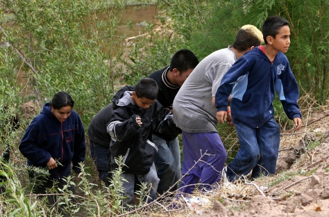 TO GO WITH AFP STORY: MEXICO-MIGRATION -