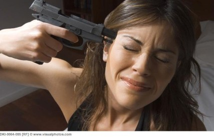had to find a stock photo--try searching white woman shot by poice