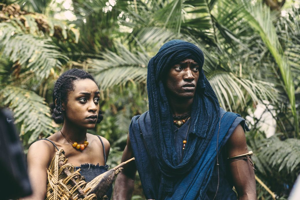 Roots-Night-1-pic-3-Jinna-Simona-Brown-and-Kunta-Kinte-Malachi-Kirby