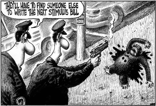 2009_New_York_Post_Cartoon_Cops_Shoot_Ape